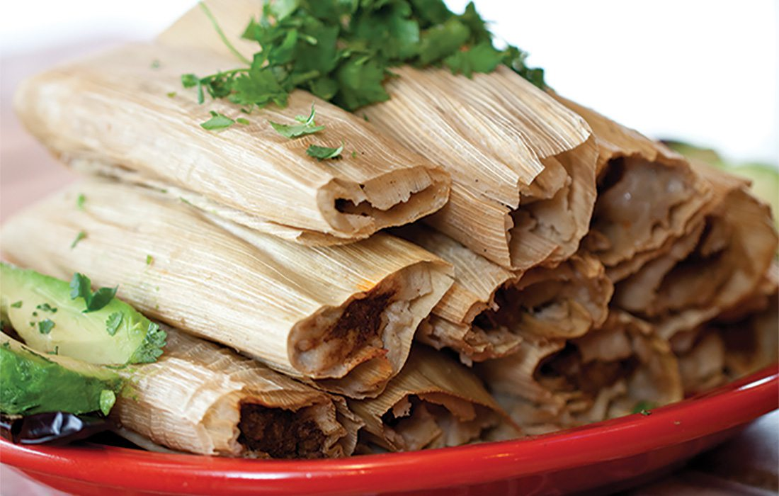 Tamales from Maria's Mexican Restaurant