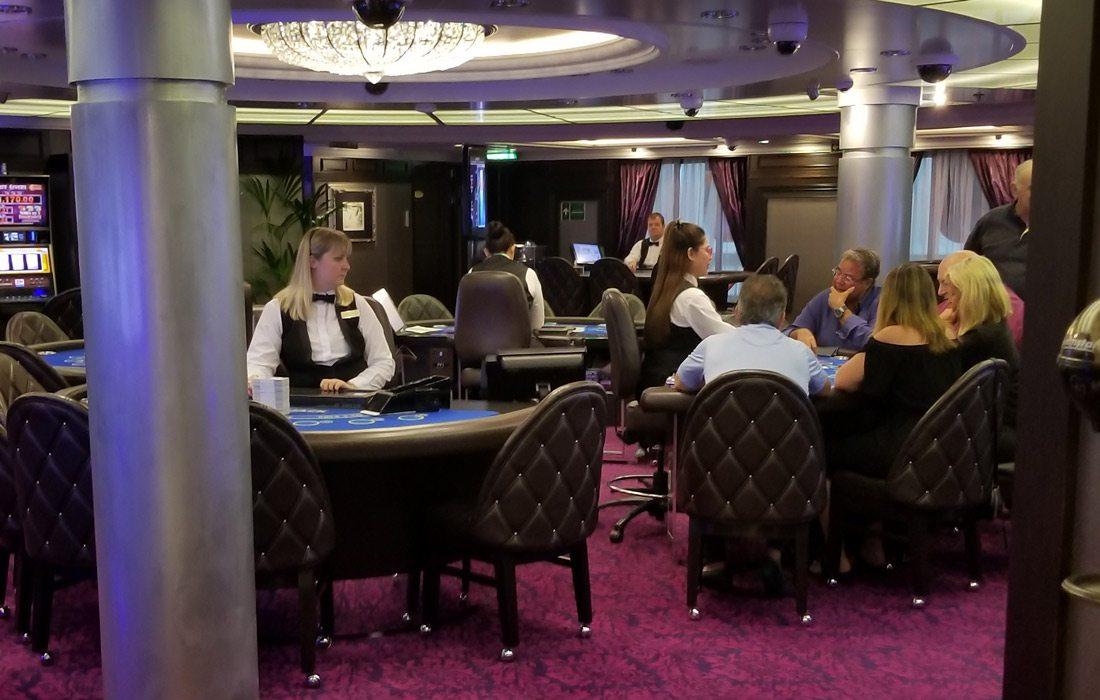 The casino aboard the Marina