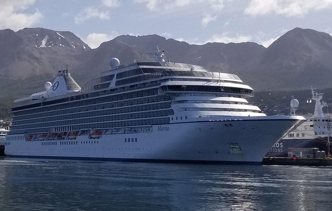 The Marina cruise ship