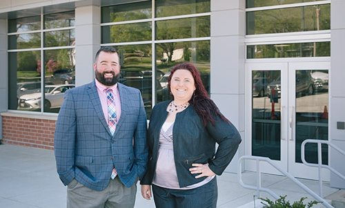 Judson Wall and Jessica Martin of Martin & Wall Law in Ozark MO