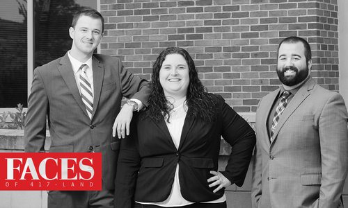 Judson Wall, Jessica Martin, Brad Hughes of Martin & Wall