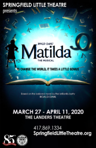 Audition for Matilda The Musical in Springfield, MO