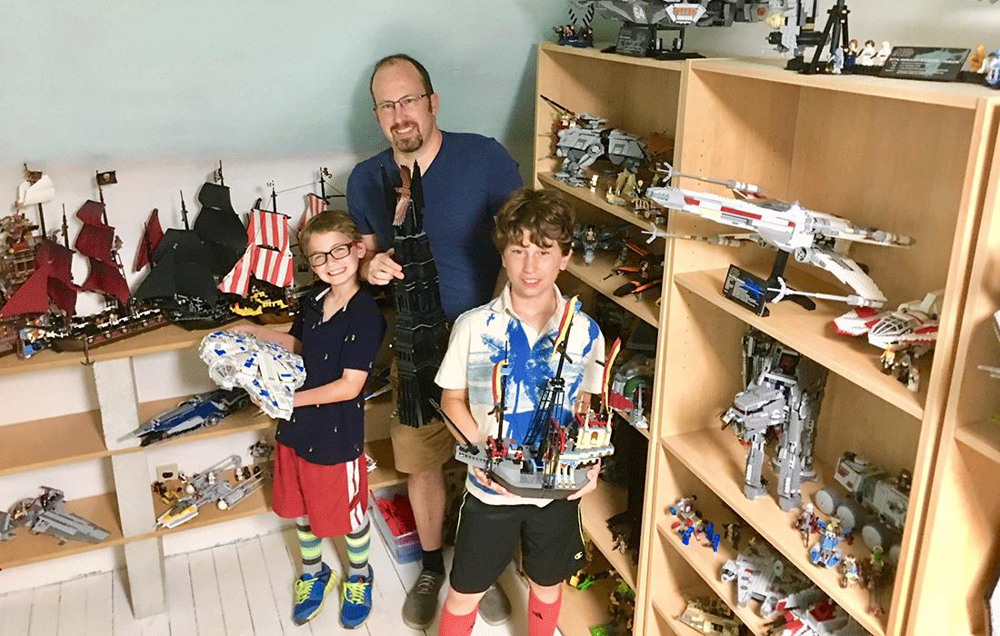 Matt Battaglia Lets Go with Legos