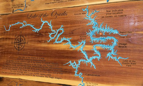 Meet the Engraver who Makes Custom Lake Maps