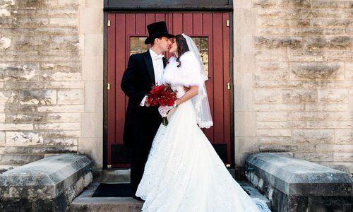 Megan Williams & Victor Jantz's Christmas Wedding