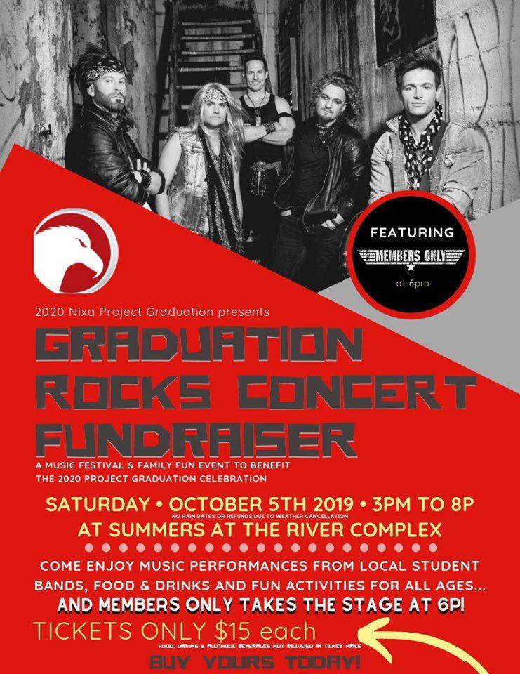Live music fundraiser in Nixa, MO
