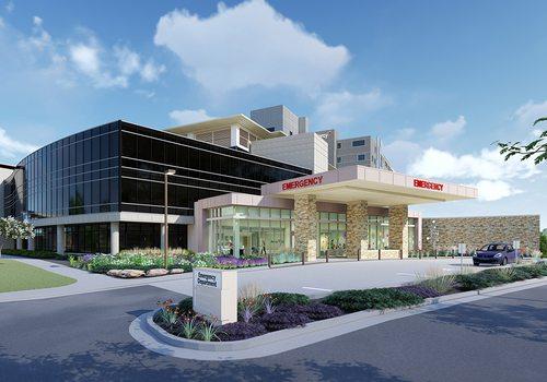 Rendering of Mercy Hospital's new Mercy Kids pediatric emergency room