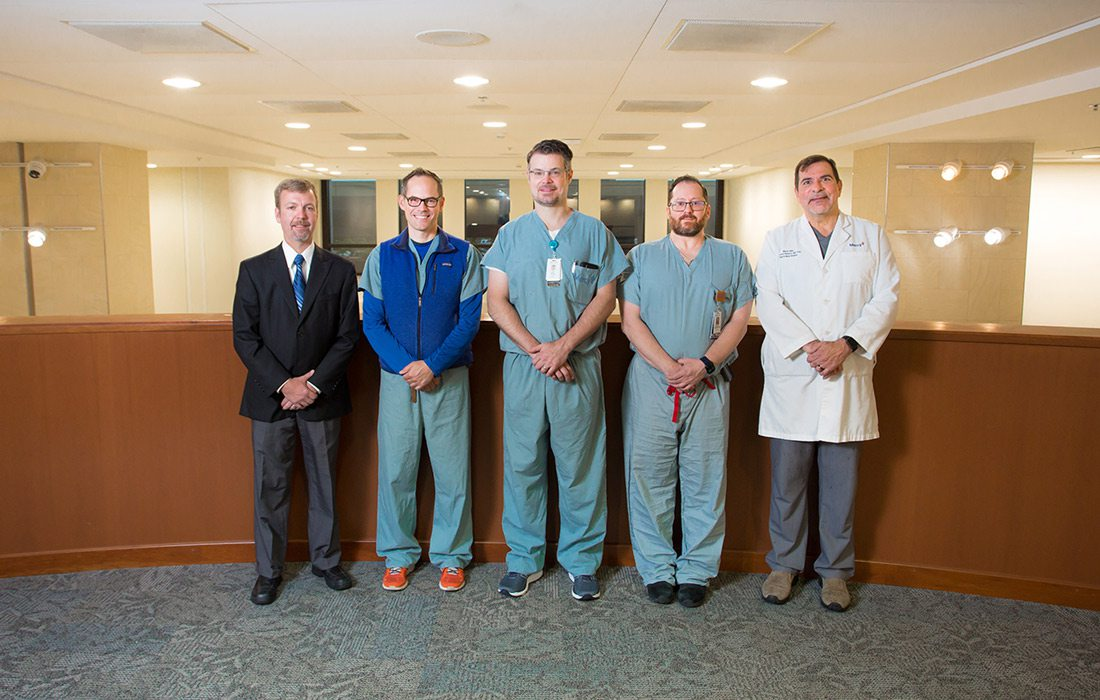 Erich Mertensmeyer, DO; Aaron Morrison, MD; Mark Van Ess, DO; Benjamin Hodnett, MD; A. Daniel Pinheiro, MD