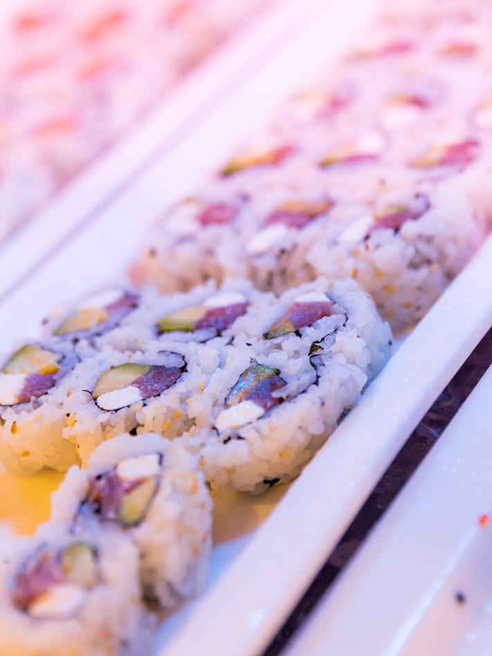 Sushi at Mikado Supreme Buffet