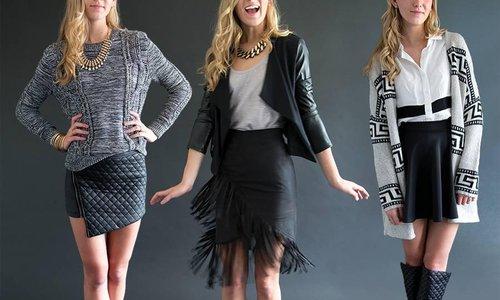Miniskirt style