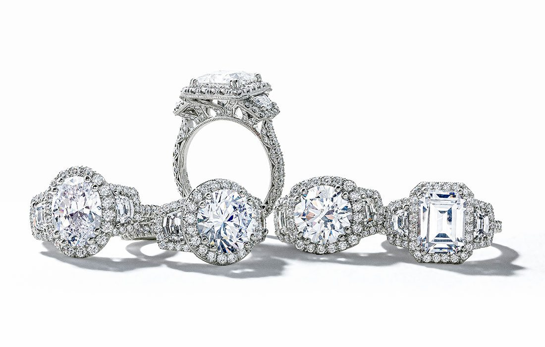 Wedding and engagement rings at Mitchum Jewelers in Ozark MO