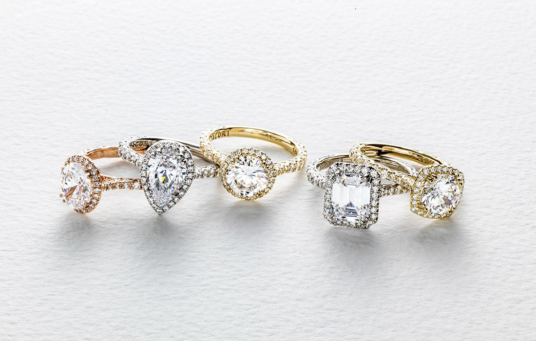 Wedding and engagement rings at Mitchum Jewelers in Springfield MO
