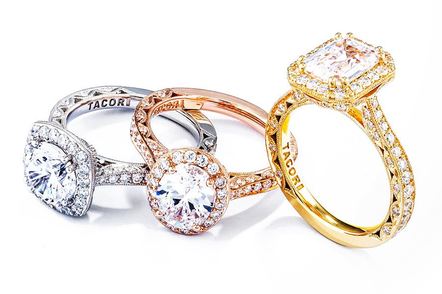diamond engagement rings at Mitchum Jewelers Springfield MO