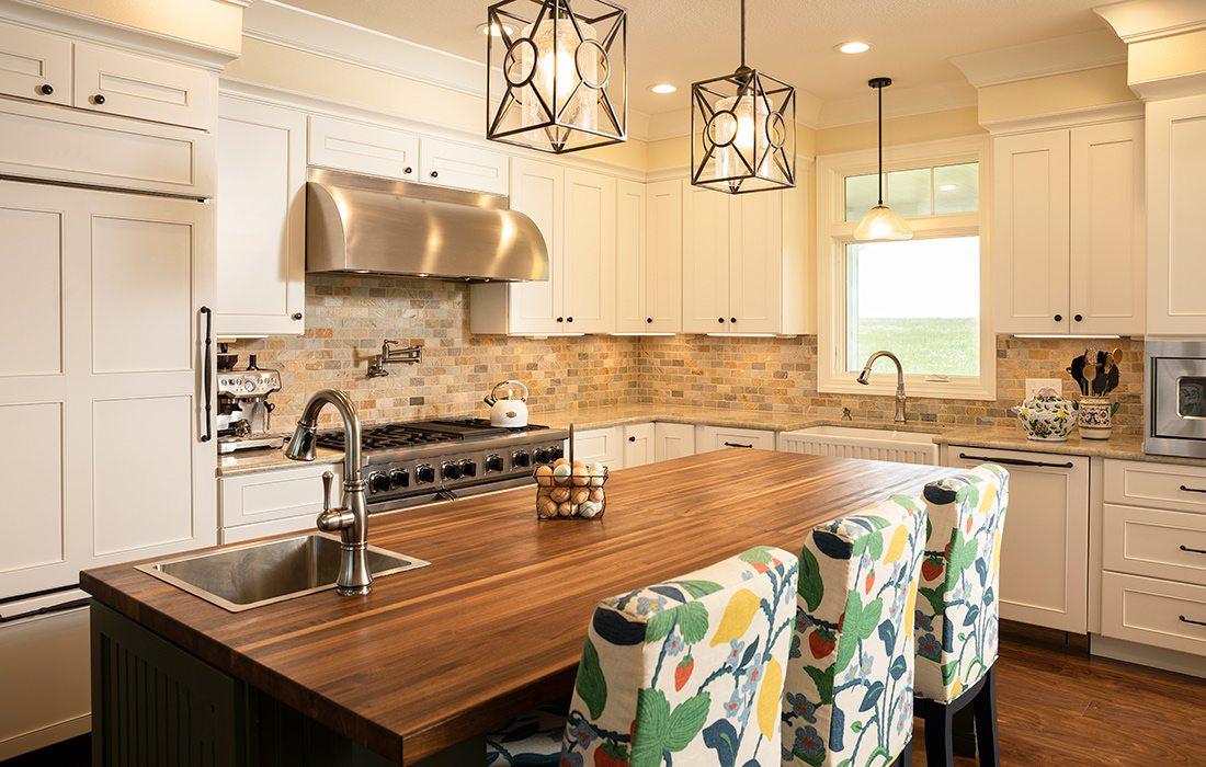 Kitchen modern craftsman style home in Lockwood MO