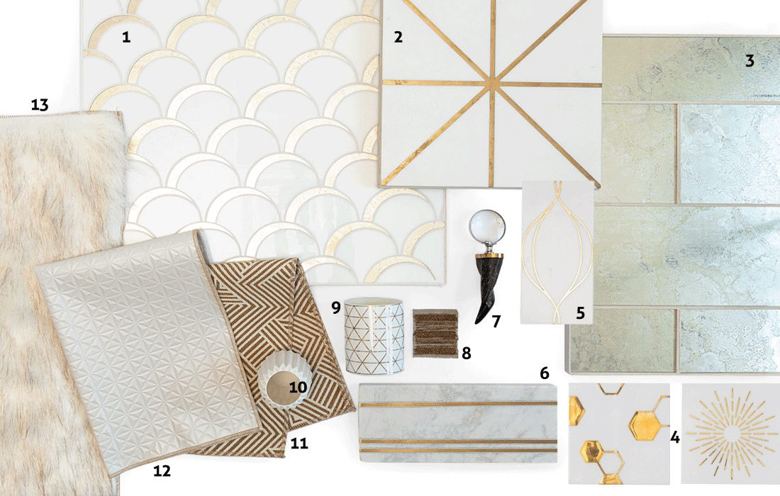 Add Glam To Your Home With Art Deco Inspired Elements
