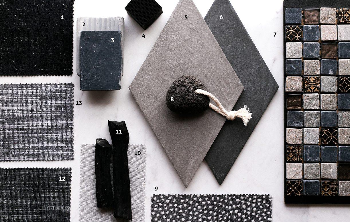 charcoal decor