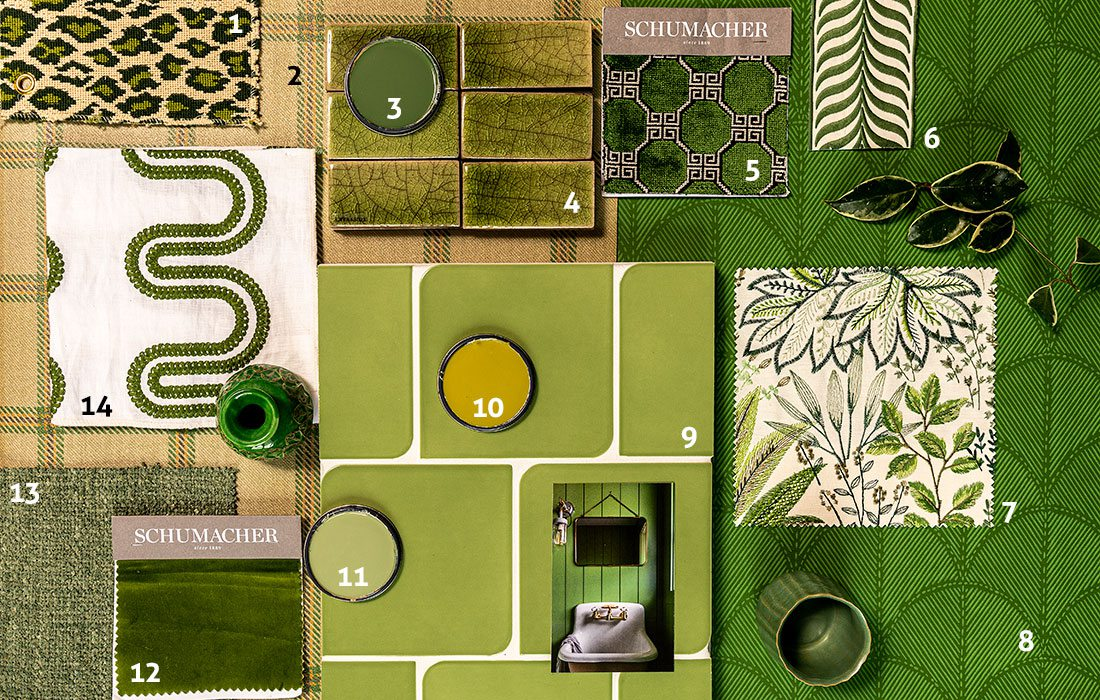 Green home decor and materials