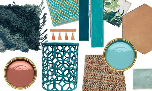 Decorate in style with this season's turquoise and terra cotta trends with local Springfield, MO stores.