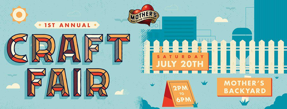 Attend Mother's Brew Co. Craft Fair in Springfield, MO.
