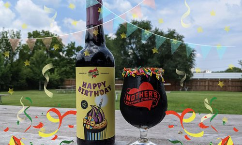 Mother's Brewing Company birthday brew