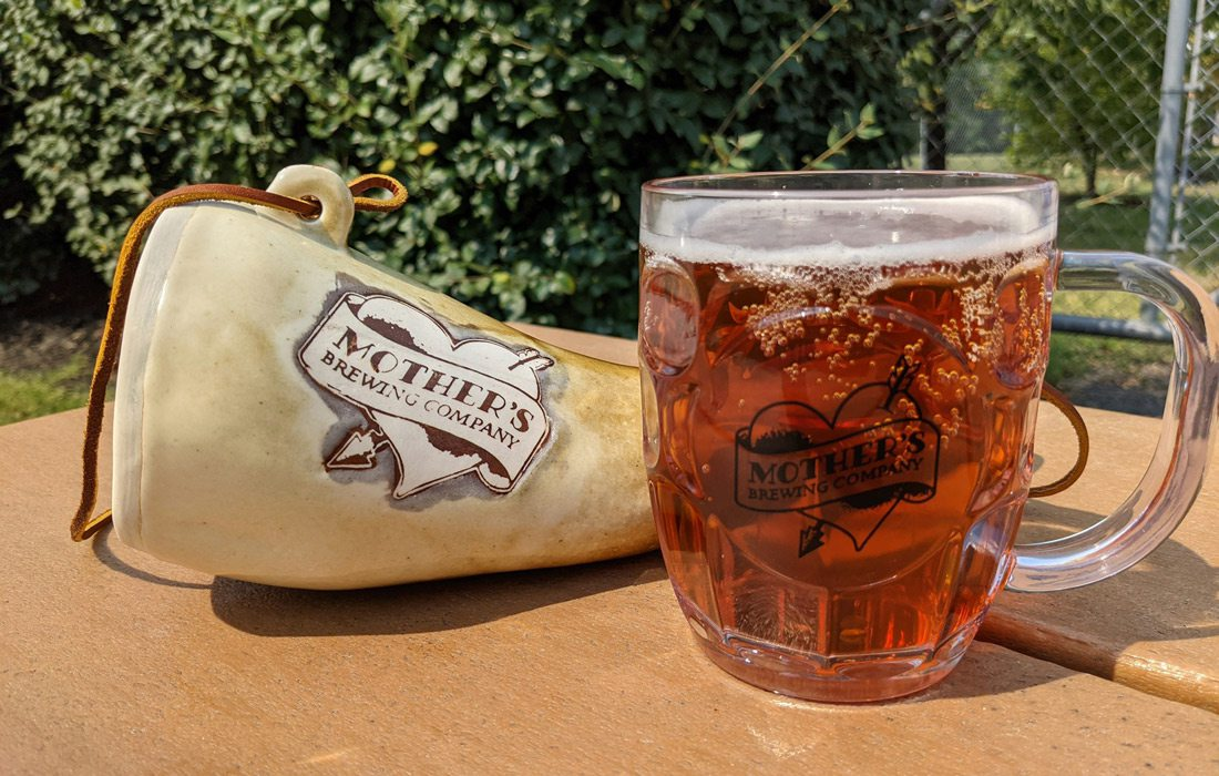 Oktoberfest drinks at Mother's Brewing Company