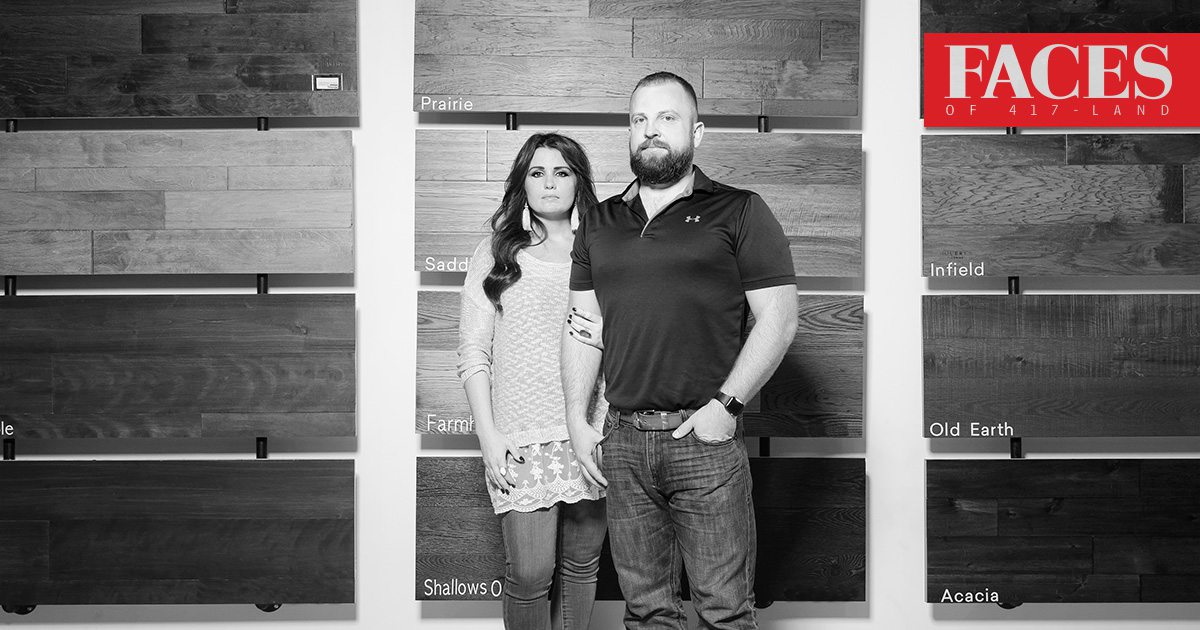Elisabeth & Rick Mouery of Mourey's Flooring in Springfield, MO