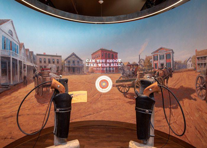 History Museum shootout recreation