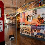 Slider Thumbnail: More Route 66 display at History Museum