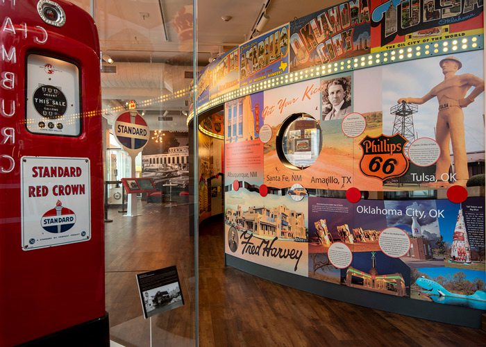 More Route 66 display at History Museum
