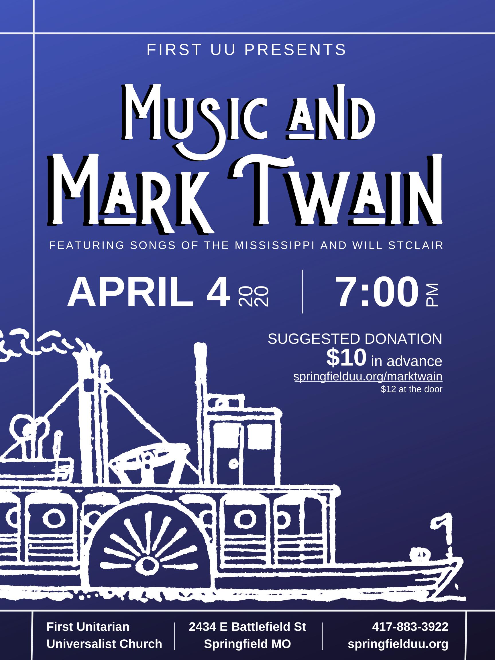 Music and Mark Twain
