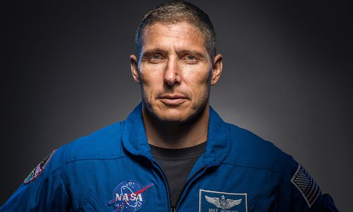 NASA Astronaut Mike Hopkins