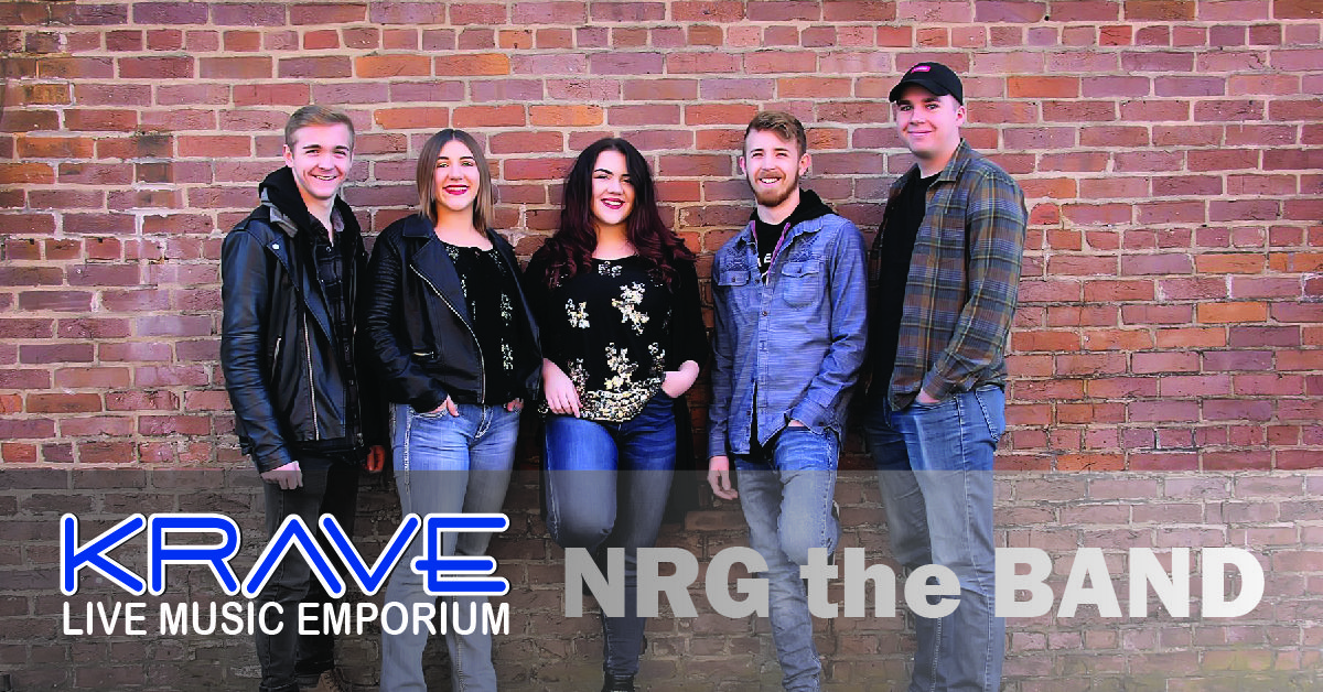 Don't miss NRG the Band at Krave Music Emporium in Springfield, MO