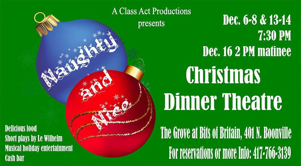 Naughty and Nice Christmas Dinner Theatre