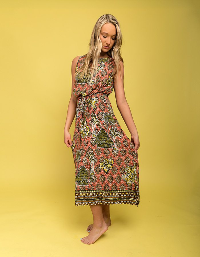 390-Uncle Frank tiki dress at Baglady Boutique