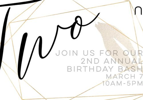 Nest's 2nd Annual Birthday Bash