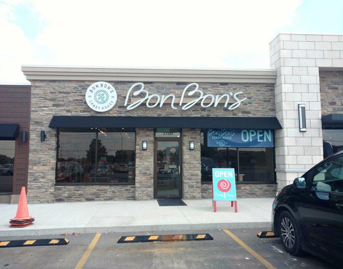 Bon Bon's Candy House Springfield, MO Brentwood Center exterior