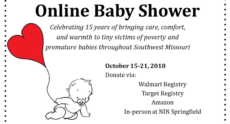 Newborns In Need Online Baby Shower