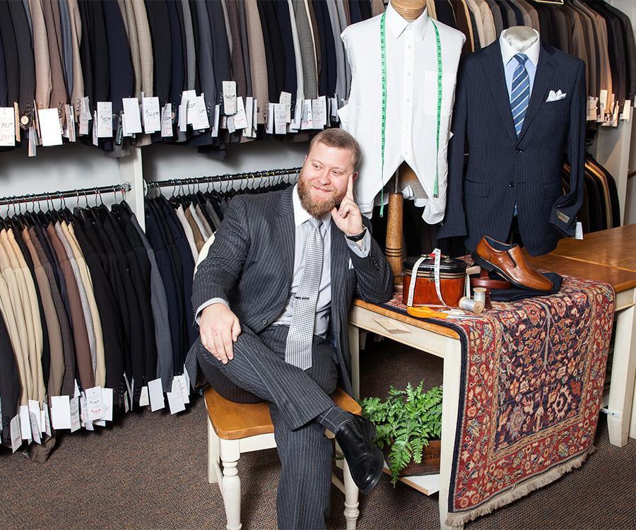 Men's Suit Mart: The Right Fit