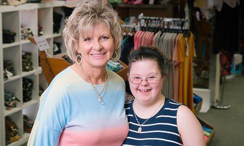 Holly and Hayle Hartmann of Nixa Clothing Company in Nixa Missouri