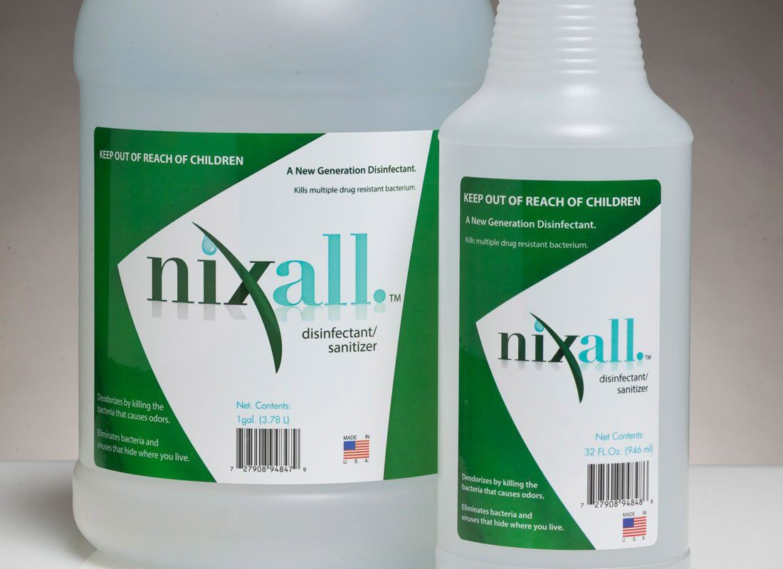 Nixall Disinfectant/Sanitizer