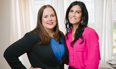 Ashley Norgard and Joelle Cannon together at a networking event.
