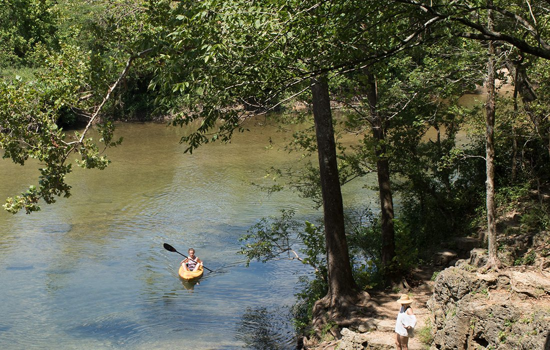 Floating down the North Fork River