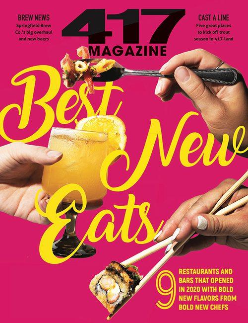 417 Magazine November 2020 cover