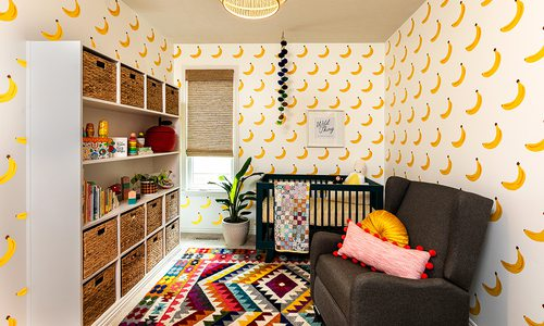 Heather Kane Kohler's baby nursery