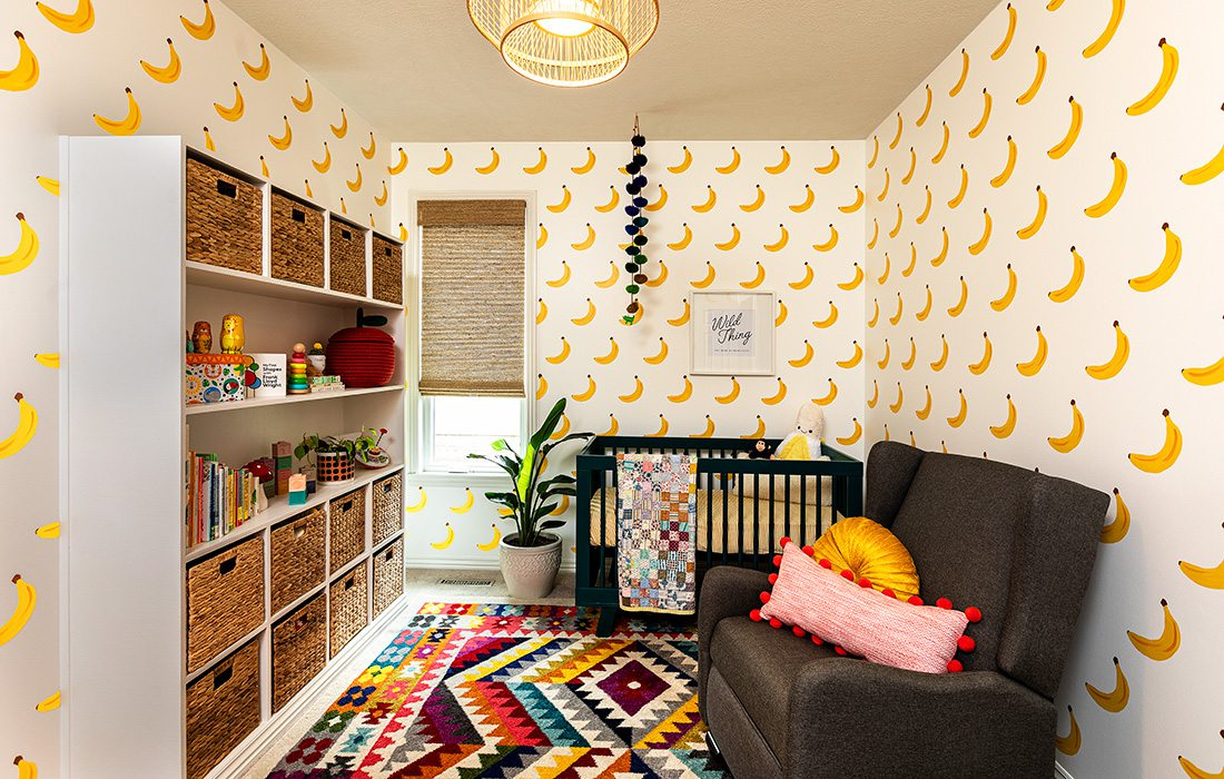Heather Kane Kohler's baby nursery
