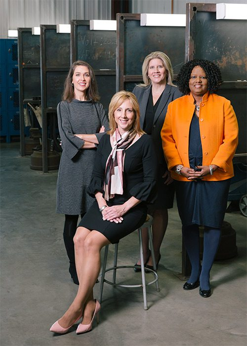 Women from OTC's Center for Workforce Development