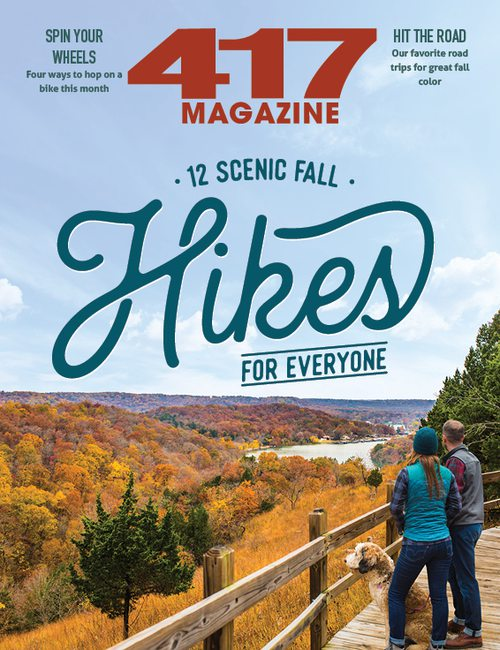 417 Magazine | 12 Scenic Fall Hikes | October 2019