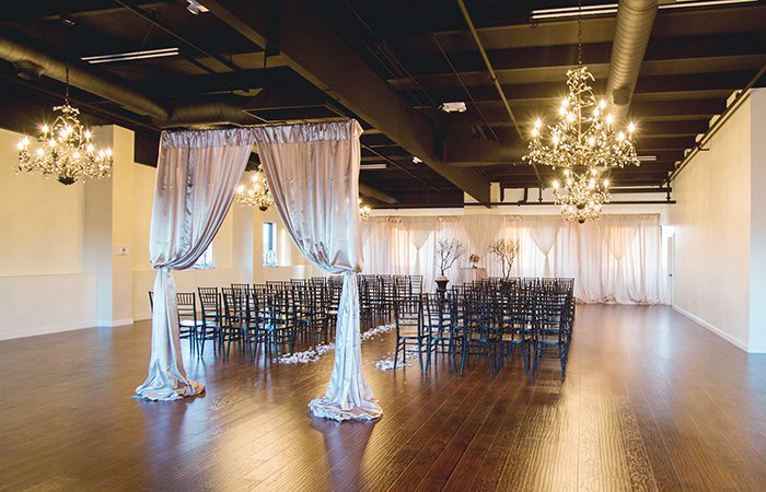 wedding ceremony space