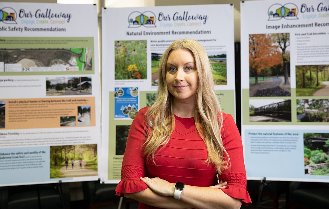 Olivia Hough Senior Planner for the City of Springfield, MO