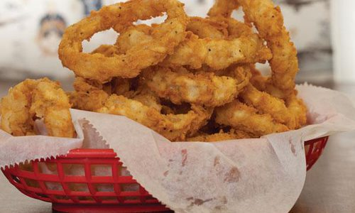 Onion Rings at Rosie Jo's
